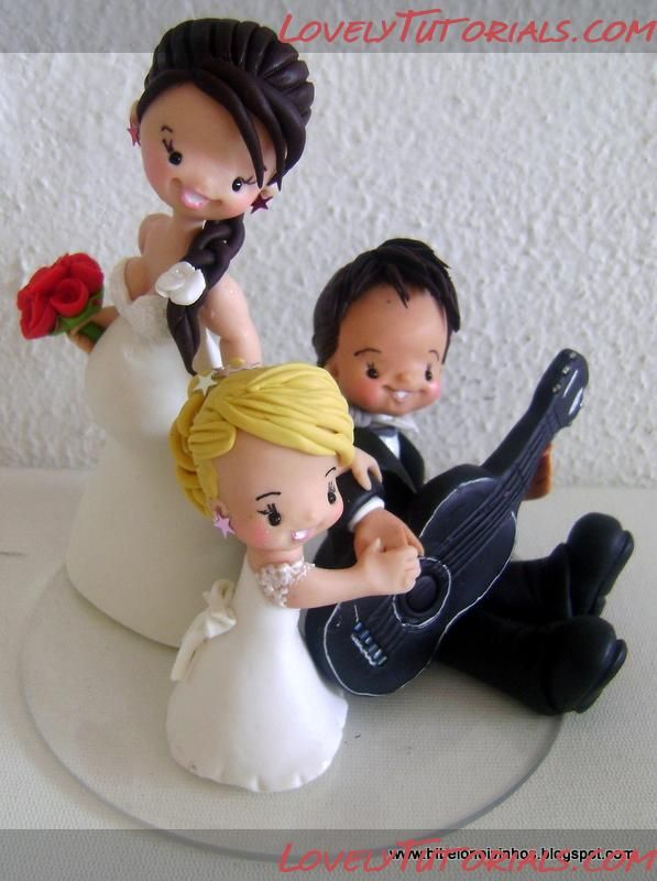 Cake Decor Figurines : 114 best images about Figurine & cake decor Tutorial on ...