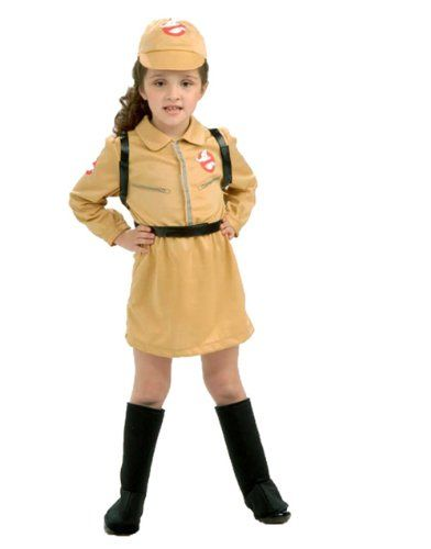 Rubies Sony Ghostbusters Girl Child Costume @ niftywarehouse.com #NiftyWarehouse #Ghostbusters #Movie #Ghosts #Movies #Film
