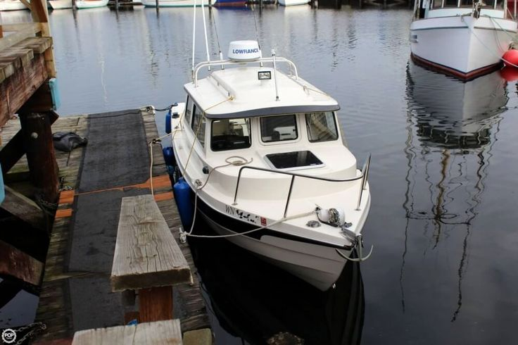 2006 Used C-Dory 22 Cruiser Pilothouse Boat For Sale - $61,200 ...