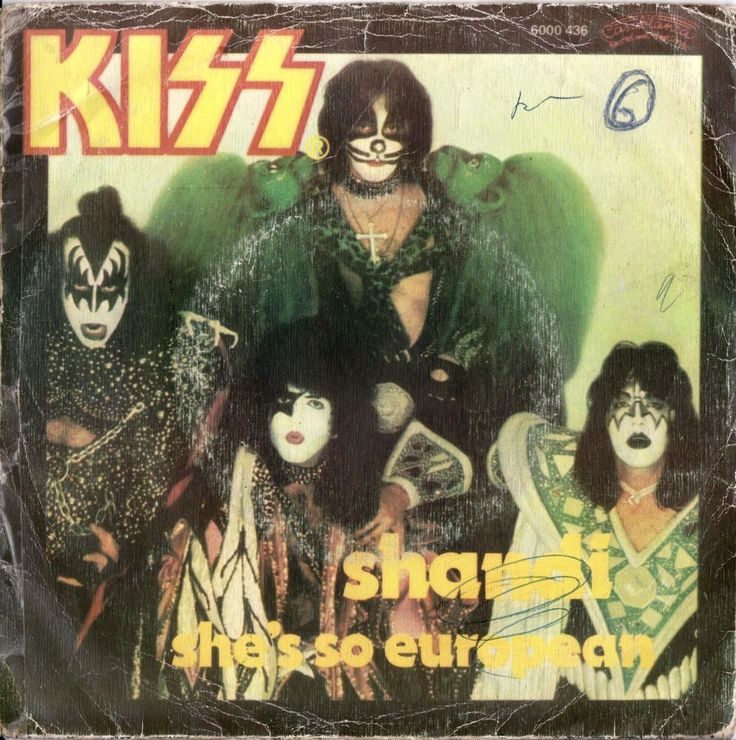 "KISS Shandi 1980 Portugal Issue Very Rare 7"" 45 Vinyl Record Rock 70s 6000436   Music, Records   eBay!"
