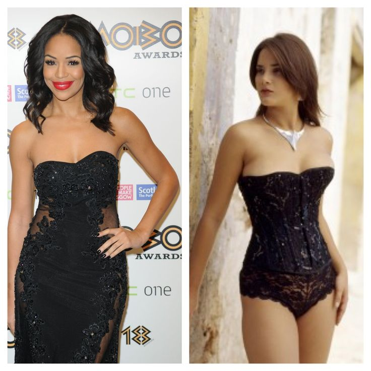 Get Sarah-Jane Crawford's look with Vollers 'Precious' corset http://www.vollers-corsets.com/precious.html