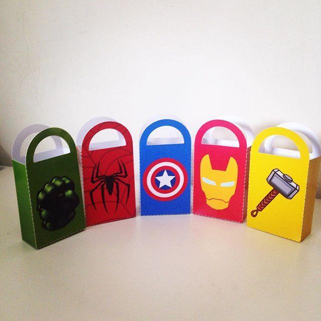Caixas Heróis  #lalui #herois