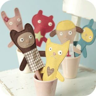 Finger puppets - nice!