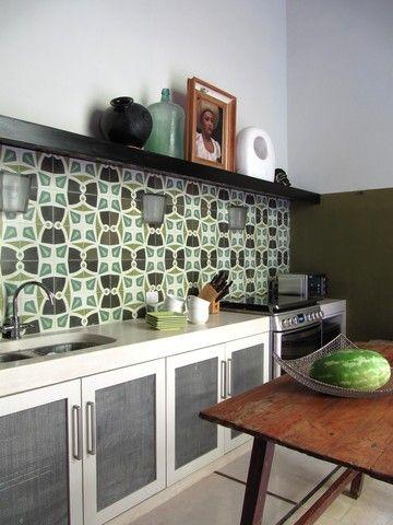 Cemento blanco cocina concreto pinterest repisas for Imagenes de losetas y azulejos