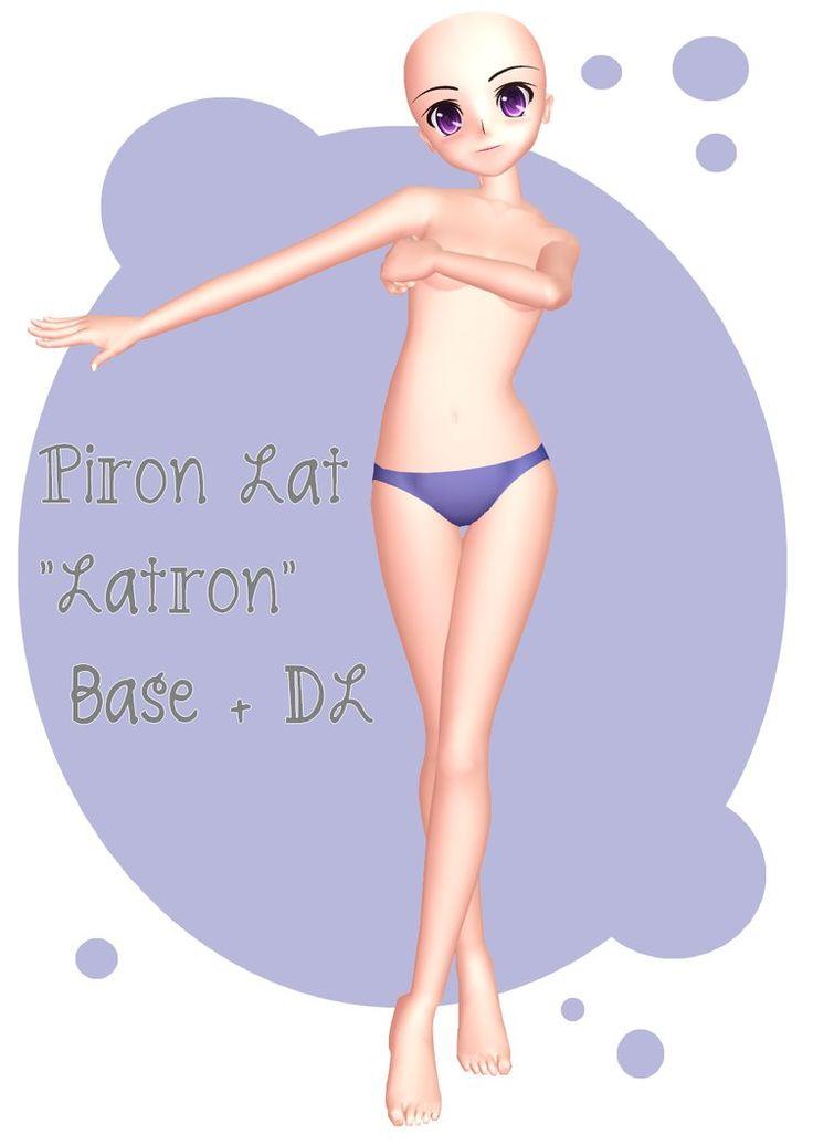 MMD - Piron Lat ''Latron'' Base + DL by lexxxyy.deviantart.com on @DeviantArt