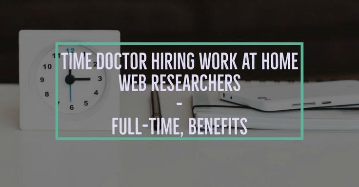Time Doctor is hiring work at home web researchers. Details below (from the Time Doctor job posting): You will be part of the linking team researching contact details for link requests and other SEO partnerships. You should have fast Internet, great web research skills and be totally dedicated to work full time in this job. We provide some great benefits such as 3 weeks of paid holiday per year and some level of health benefits. In your application please tell us what is the 4th letter of…