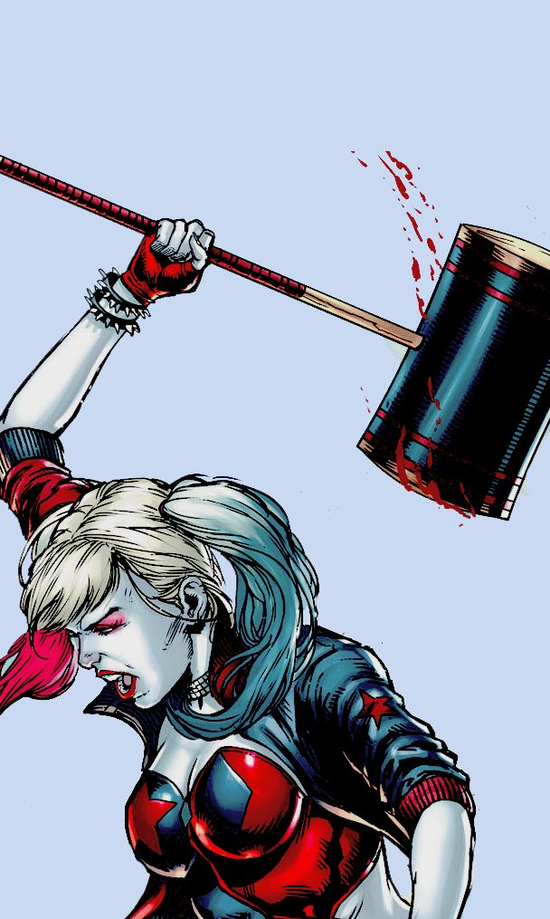 "wadewicons: ""like or credit @johncosntantine on twitter "" DC Comics - Harley Quinn - Harleen Quinzel"