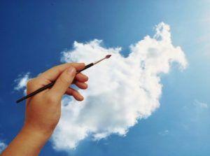 Leer ook wolken schilderen met behulp van ons stappenplan. Daarnaast vind je op de pagina ook een handig filmpje waarin precies wordt uitgelegd hoe je mooie