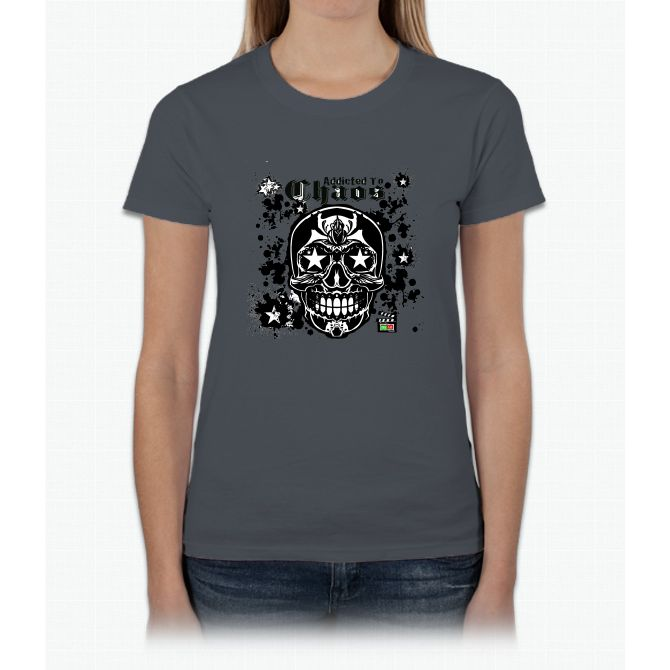 Addicted To Chaos Movie T Shirt Bee Movie Womens T-Shirt