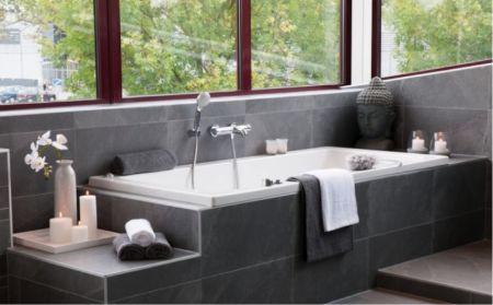 25 beste idee n over rustige badkamer op pinterest kleine badkamer kleuren badkamer verf - Sfeer zen badkamer ...