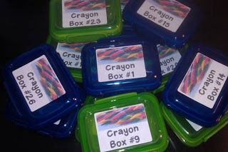 Dollar Tree Finds, Crayon Storage,  and a Small Giveaway!