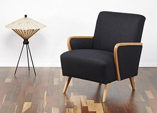 Vintage armchair. #viremo #50s #60s #70s #Midcentury #Vintage #Retro #Cocktail_Chair #retro furniture www.viremo.co.uk