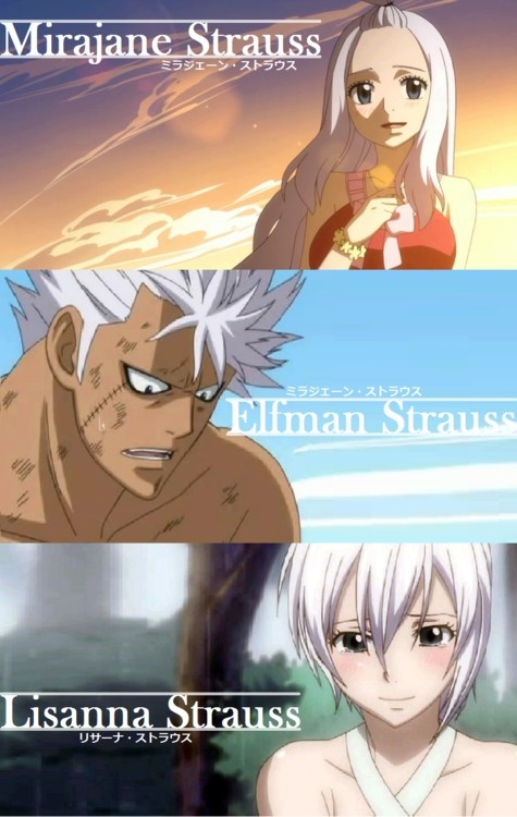The Strauss Family || Fairy Tail