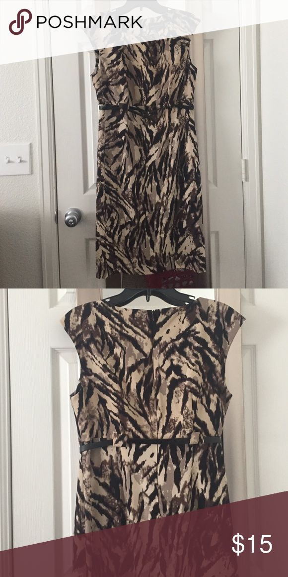 Animal print dress Never worn before but super comfy when i tried it on. Dresses