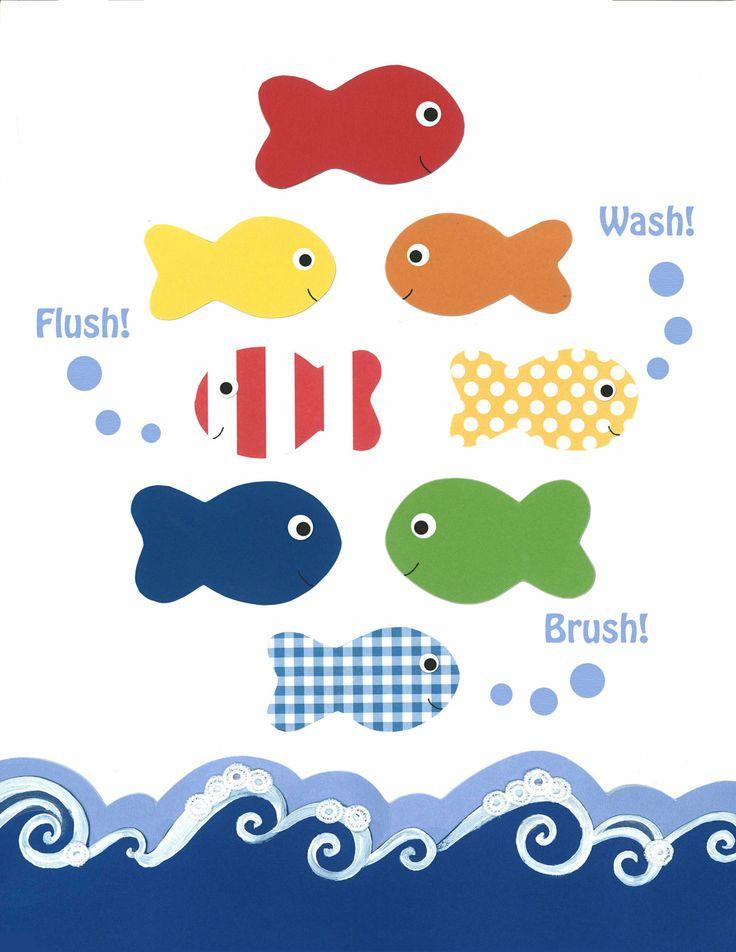 Nursery Art Print, Children Decor, Bathroom Art, Nautical Bathroom Decor,  Ocean Bathroom