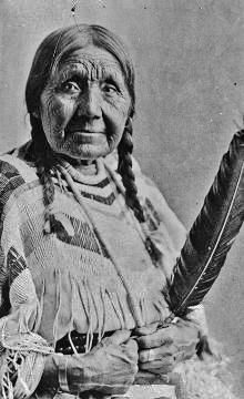 Mary Moses (the wife of Loolowkin or Chief Moses) - Colville/Sinkiuse - before 1939