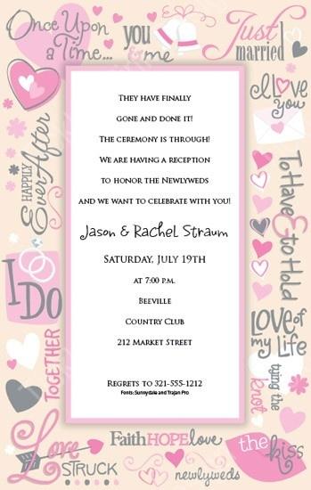 Wedding Wishes Bridal Shower Invitation