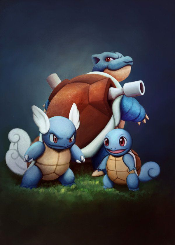 Squirtle Wartortle and Blastoise. Pokemon Serie. Squirtle Wartortle and Blastoise. Pokemon Serie. Gallery quality print on thick 45cm / 32cm metal plate. Each Displate print verified by the Production Master. Signature and hologram added to the back of each plate for added authenticity & collectors value. Magnetic mounting system included. EUR 44.00 Meer informatie