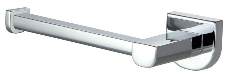 Cooke & Lewis Axis Silver Chrome Effect Toilet Roll Holder, (W)164mm | Departments | DIY at B&Q