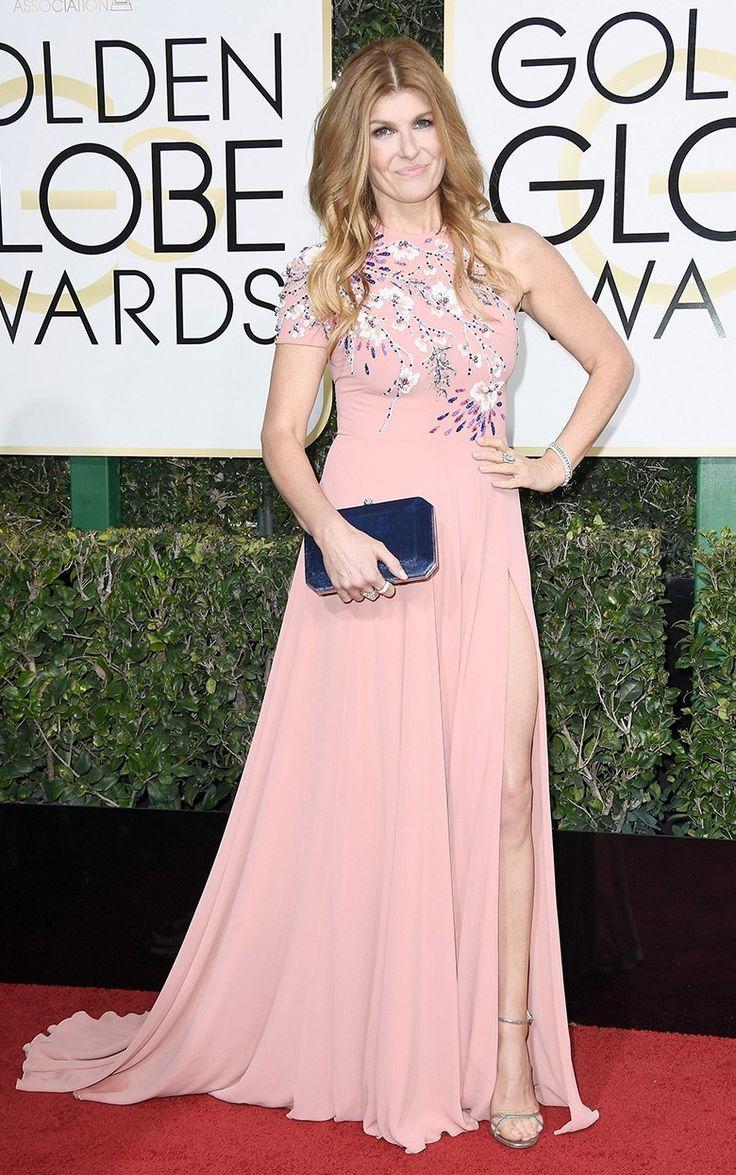 Конни Бриттон на церемонии вручения наград премии «Золотой глобус» в Лос-Анджелесе, 08 января 2017 г.