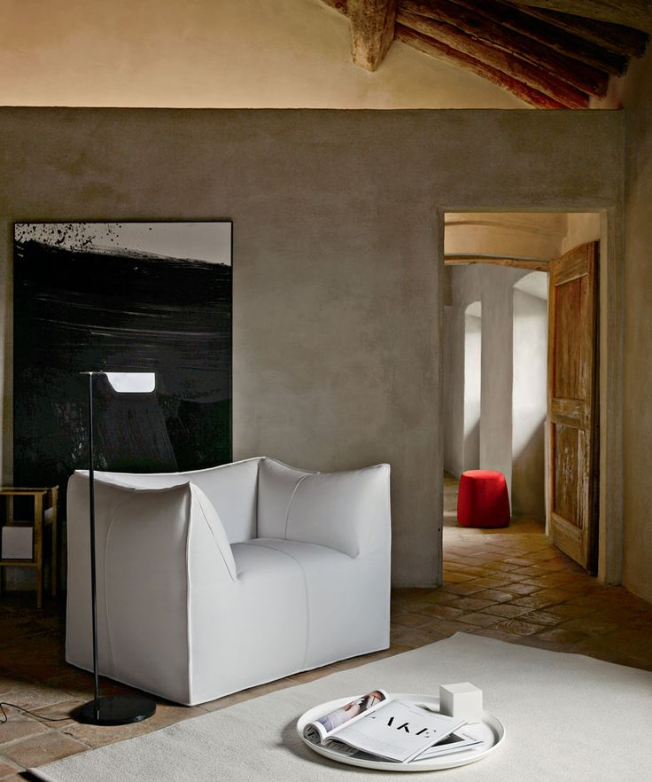 Armchair: LE BAMBOLE - Collection: B&B Italia - Design: Mario Bellini