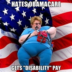 "Obese American - hates obamacare gets ""disability"" Pay: Memes, Health Insurance, Health Care, True Words, So True, Funny Photos, Bible, True Stories, Belts"