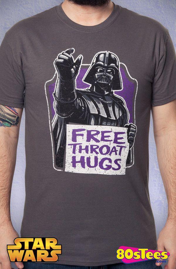 Throat Hugs Darth Vader T-Shirt