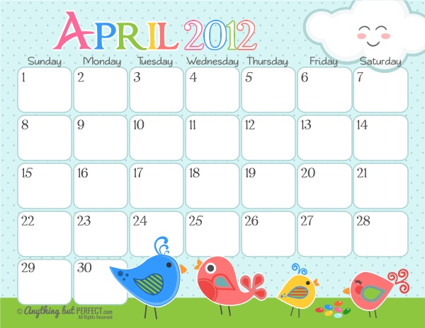 """Calendar Printables Cute : Search results for """"free printable monthly calendar"""