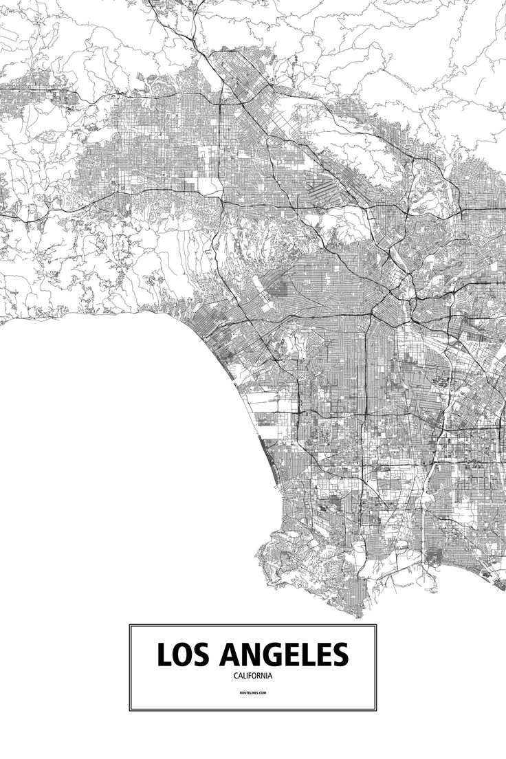Best Images About California Vibes On Pinterest - Los angeles poster black and white