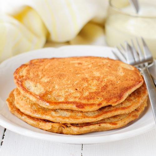 Carrot cake protein pancakes | yumminess | Pinterest