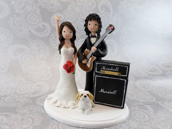 music wedding cake toppers these are custom made i d like one where the groom has a 17670