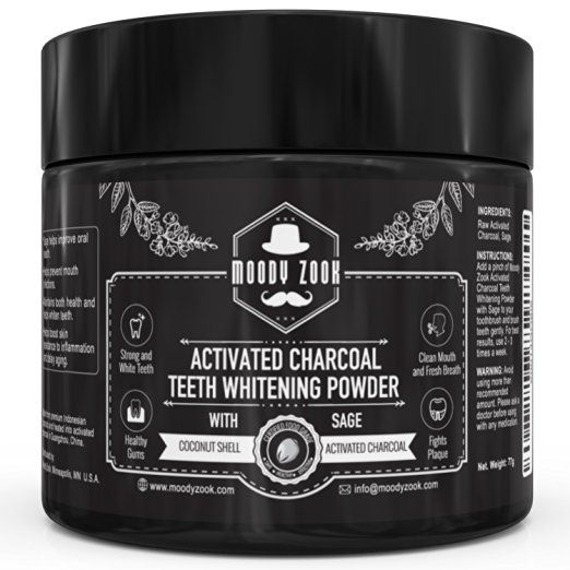 Activated Charcoal Teeth Whitening. Charcoal for teeth whitening? Seems counterintuitive but it works, and is much less damaging to teeth over the long-term than hydrogen peroxide can be (if used improperly).