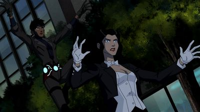 Zatanna Hurt | Image Rocket And Zatanna Young Justice Wiki The