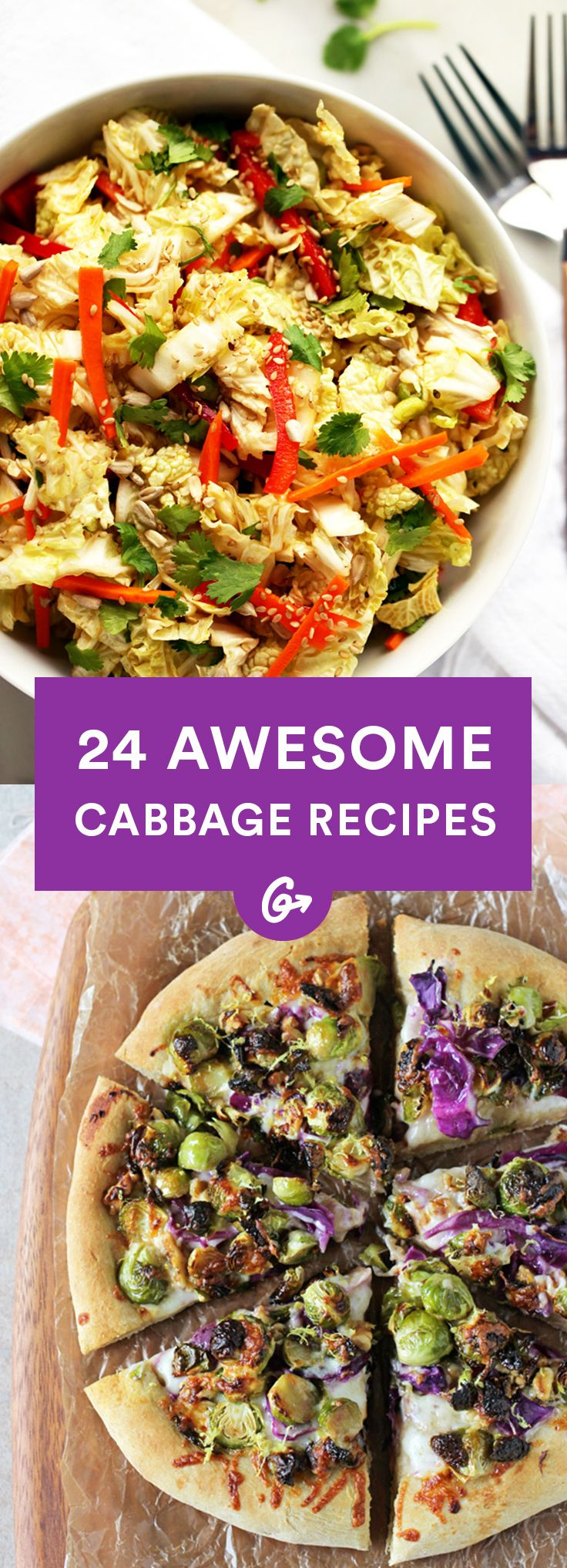 Because there's so much more than coleslaw. #easy #healthy #recipes http://greatist.com/eat/easy-cabbage-recipes