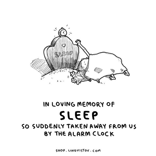 Letu0027s Have A Moment Of Silence, Hit The Snooze Button.