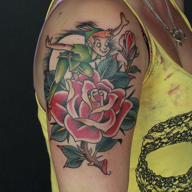 Peter Pan Tattoos