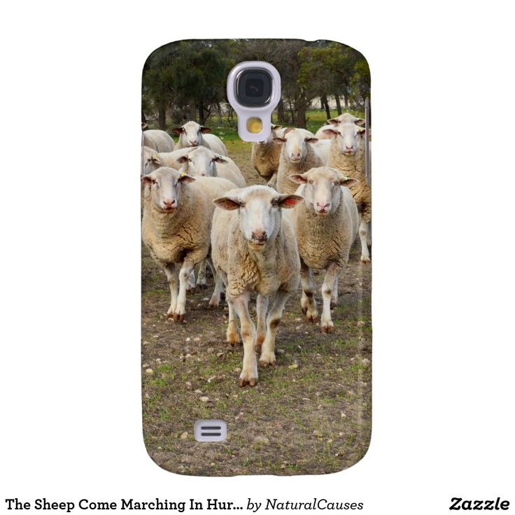 The Sheep Come Marching In Hurrah, Samsung Galaxy S4 Case