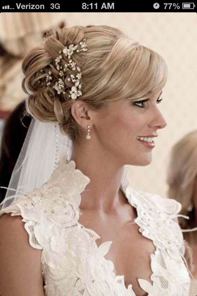 Brides hairstyle
