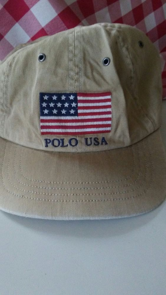 f01968aa8b29d POLO RALPH LAUREN USA STADIUM 1992 FLAG VINTAGE HAT  fashion  clothing   shoes  accessories  mensaccessories  hats (ebay link)
