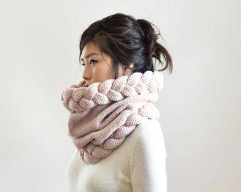 Gruesa bufanda redecilla doble capucha gruesa bufanda por IRISMINT