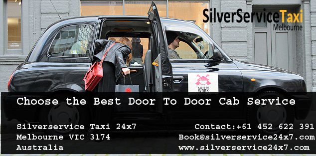#Silver #Door to #Door  #Taxi #cab bookings are able to be made 24 hours a day, 7 days a week and can pick you up as soon as possible or you can request a taxi cab to pick you up at a later time or date. Book cabs by Book@silverservice24x7.com