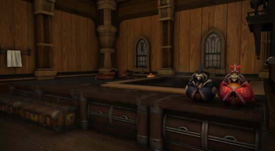 Found A Cool Tumblr About Ffxiv Housing. This Bath House