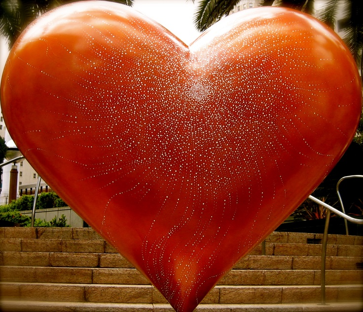 Union Square ~ San Francisco ~ Heart Sculpture