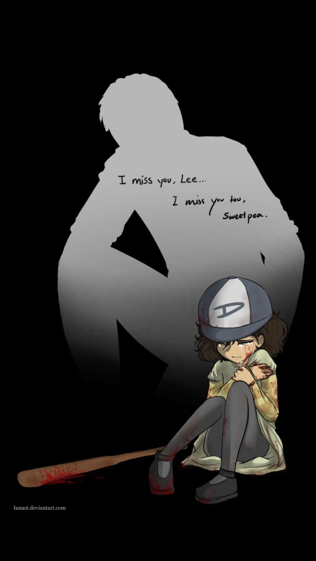 The walking dead clementine and lee