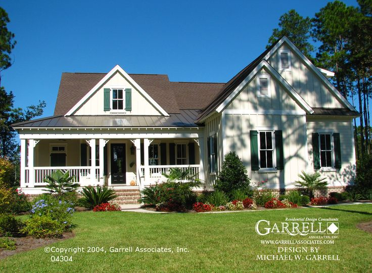 garrell associates inc cumberland harbor cottage house plan 04304 front elevation