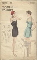 Vogue7095b 50s Vogue swimsuit pattern