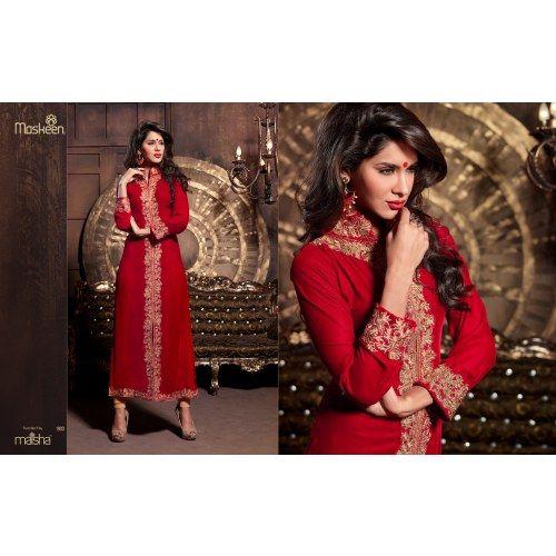 Kantaloon Red Emboidery Designer