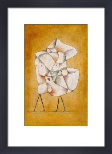 Brother and Sister, 1930 Art Print by Paul Klee at King & McGaw