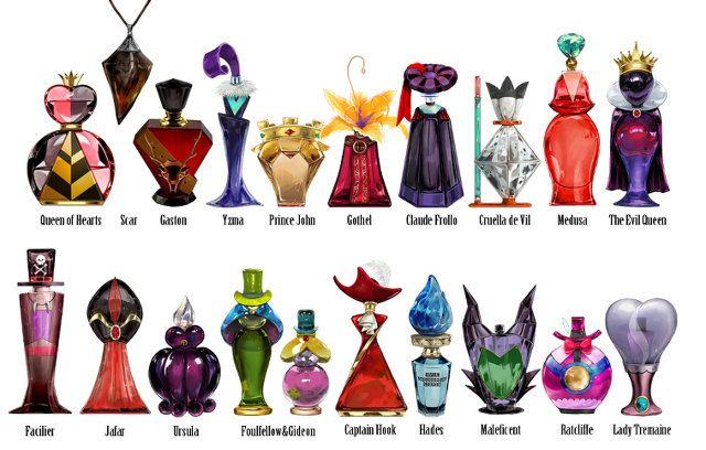 Villanos de Disney como frascos de perfume | LaFlecha