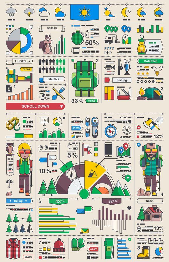 Outdoor Infographics